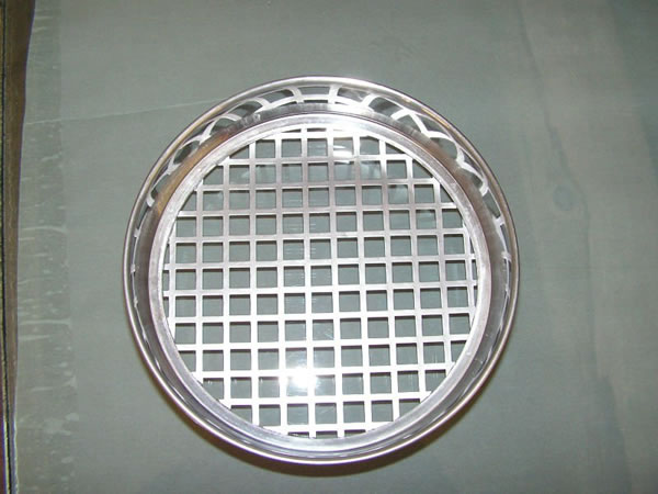 Perforated Screen For Making Heavy Perforated Plate Sieves