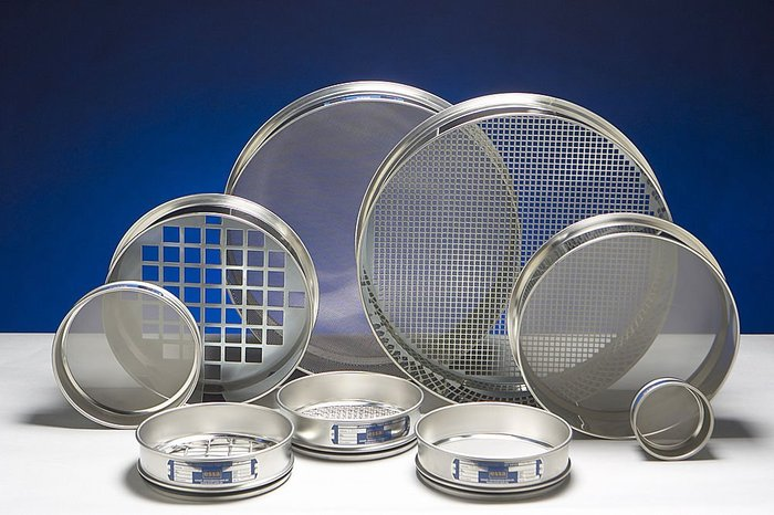 Square Hole Wire Mesh Sieves For Filter Uses Standard And