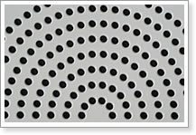Round Hole Punched Sheet, Material for Sieve Processing